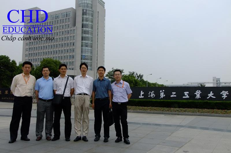 Du học Trung Quốc - Các giáo viên trường Đại học Công nghiệp số 2 Thượng Hải