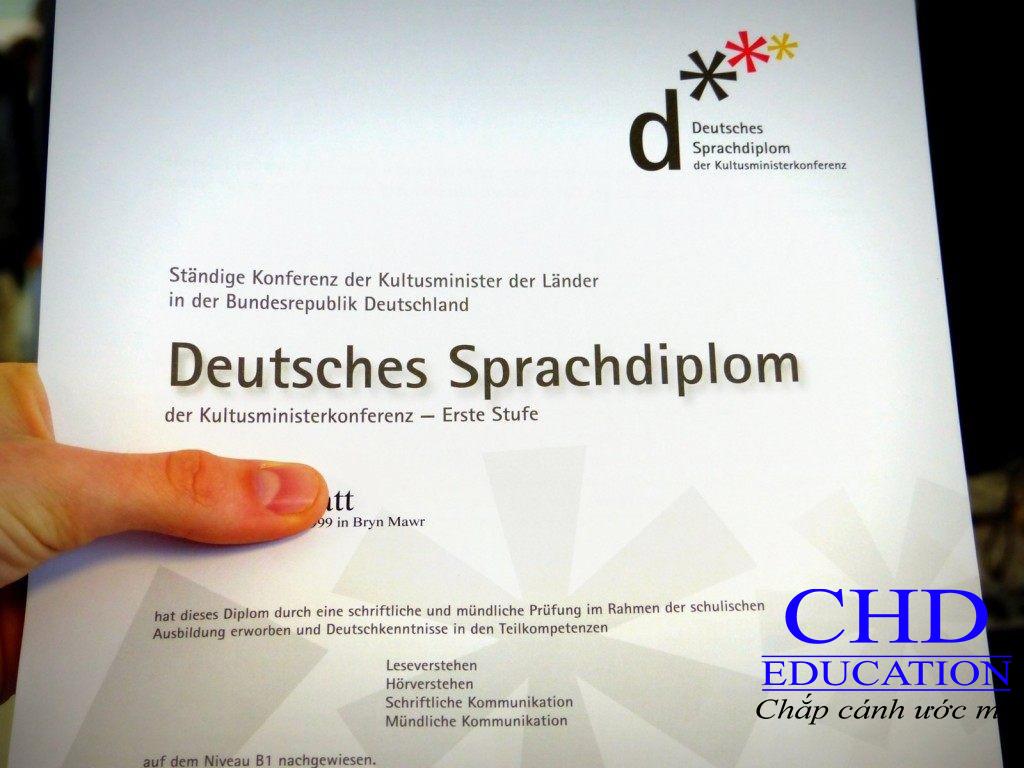 Du học Đức - Chứng chỉ tiếng Đức có quan trọng không?