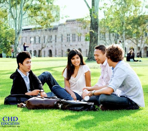 Sinh viên du học tại trường Đại học Vancouver Island, Canada