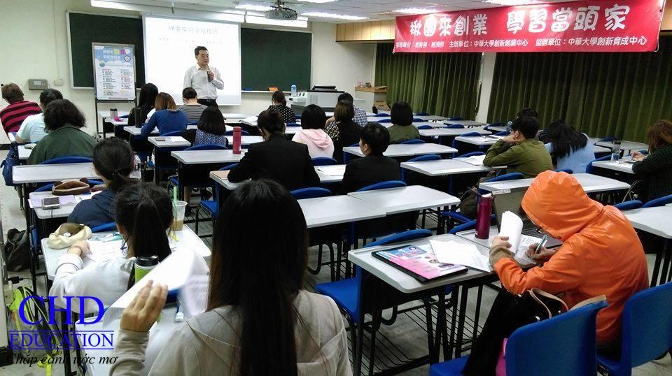 Một tiết học tại Đại học Chung Hua