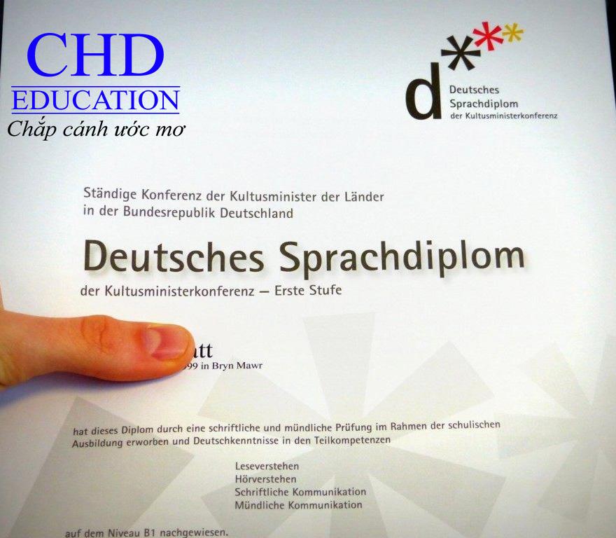 Du học Đức - Chứng chỉ DSD