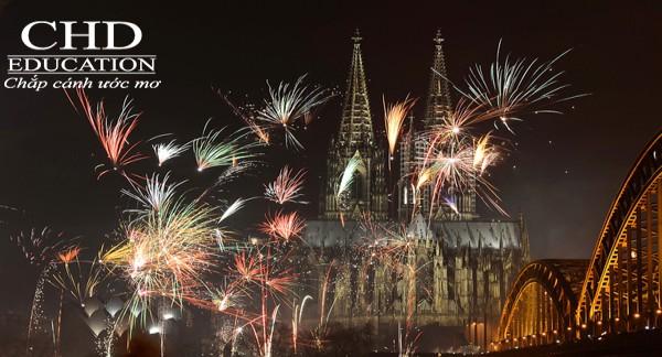 Pháo hoa trào đón năm mới