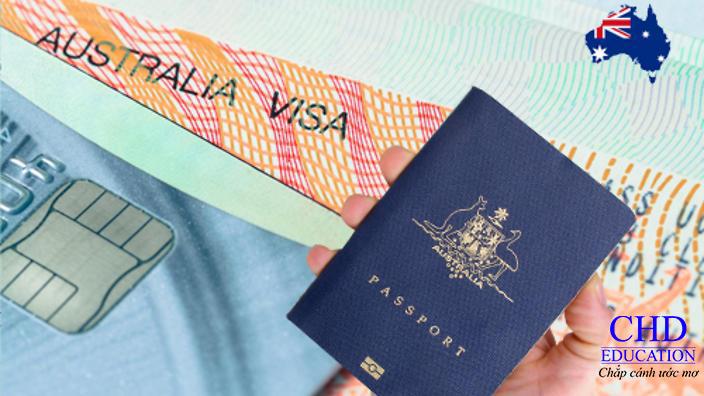 Kết quả hình ảnh cho visa úc + chd