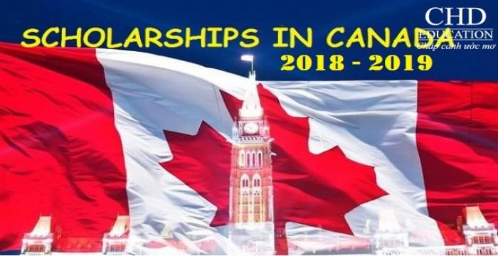 4 HỌC BỔNG CANADA HÀNG ĐẦU NĂM HỌC 2018-2019 MÀ BẠN KHÔNG THỂ BỎ QUA