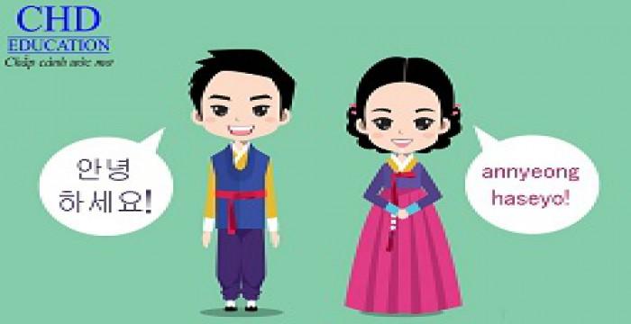 Cách giao tiếp tiếng Hàn đơn giản
