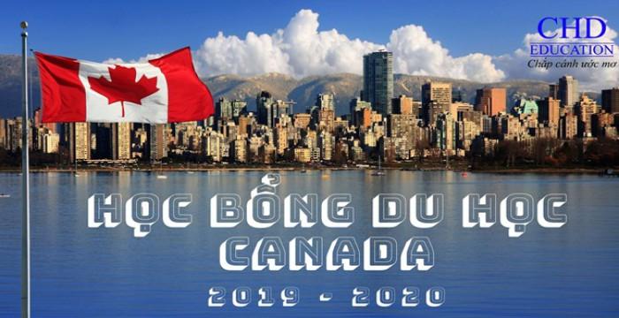 CẬP NHẬT HỌC BỔNG DU HỌC CANADA MỚI NHẤT