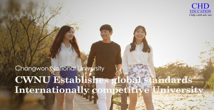 CHANGWON NATIONAL UNIVERSITY  – TRƯỜNG CODE VISA TOP 1%