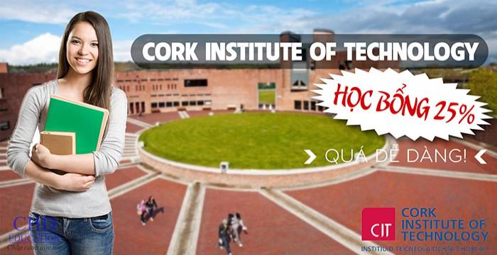 CORK INSTITUTE OF TECHNOLOGY (CIT): HỌC BỔNG 25% CHO TOÀN KHÓA, QUÁ DỄ DÀNG!
