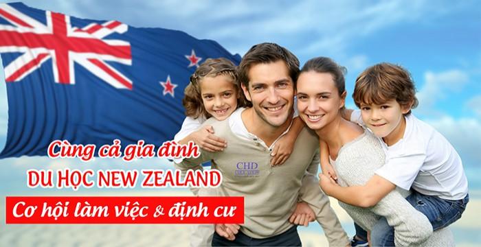 CÙNG CẢ GIA ĐÌNH ĐI DU HỌC NEW ZEALAND - CƠ HỘI LÀM VIỆC VÀ ĐỊNH CƯ