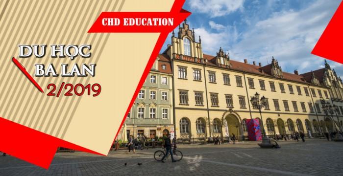 Du học Ba Lan kỳ tháng 2/2019 với cực nhiều ưu đãi hấp dẫn!!!