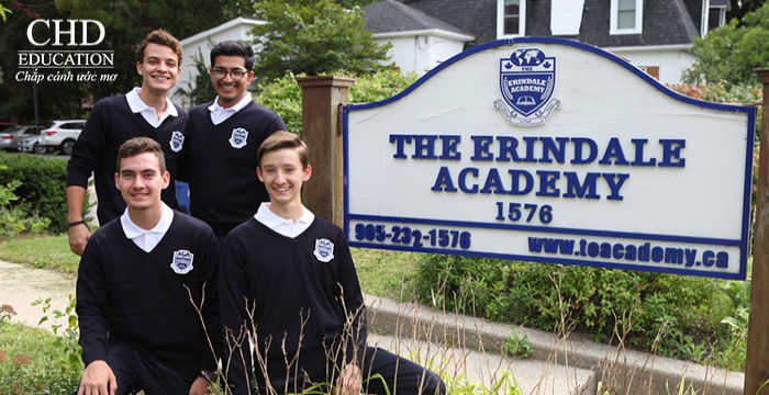 DU HỌC CANADA - TRƯỜNG THPT THE ERINDALE ACADEMY