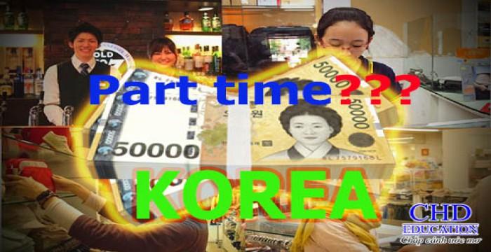 Du học Hàn Quốc - làm thêm có đủ trang trải chi phí sinh hoạt và học phí không