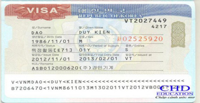Du học Hàn Quốc – Tìm hiểu chung về Visa E7