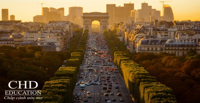 Du học Pháp khám phá những biểu tượng kiến trúc độc đáo