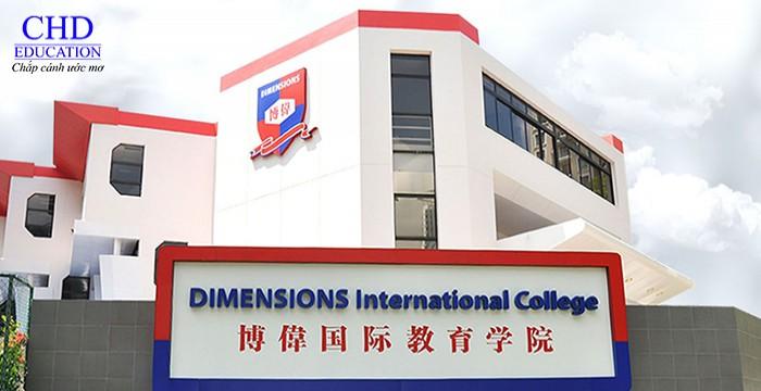 DU HỌC SINGAPORE TRƯỜNG DIMENSIONS INTERNATIONAL COLLEGE