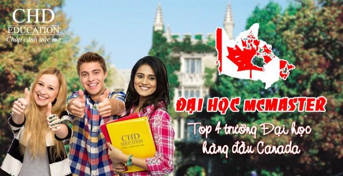 DU HỌC TẠI ĐẠI HỌC MCMASTER – TOP 4 TRƯỜNG ĐẠI HỌC HÀNG ĐẦU CANADA