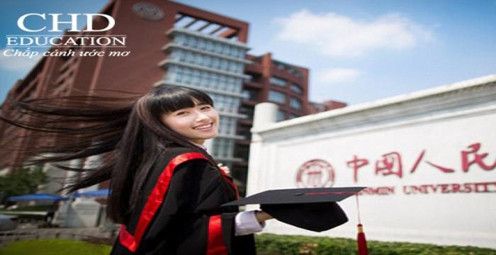 Hàng trăm suất học bổng du học Trung Quốc giá trị đang chờ apply tại CHD