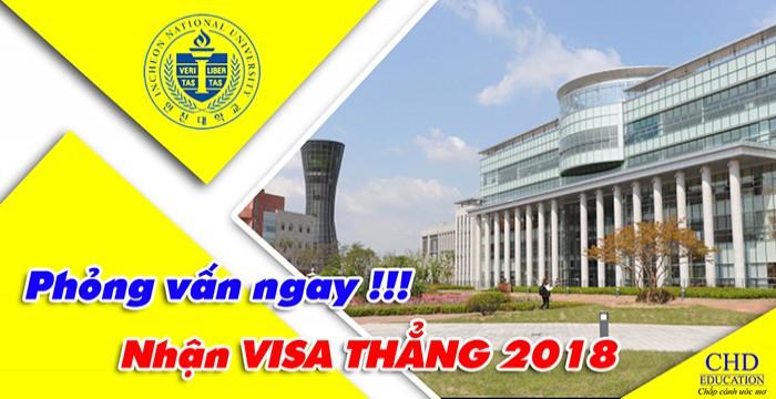 Hội Thảo Đại Học Quốc Gia Incheon – Phỏng Vấn Ngay Nhận Visa Thẳng 2019