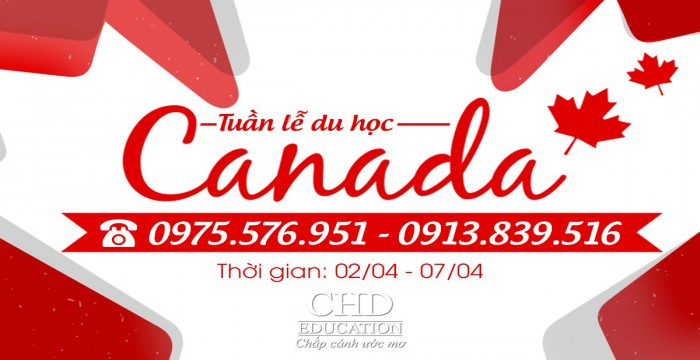 HOT! TUẦN LỄ VÀNG - TƯ VẤN DU HỌC CANADA