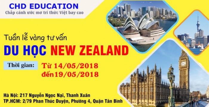HOT! TUẦN LỄ VÀNG - TƯ VẤN MIỄN PHÍ DU HỌC NEW ZEALAND 2019 CÙNG CHD