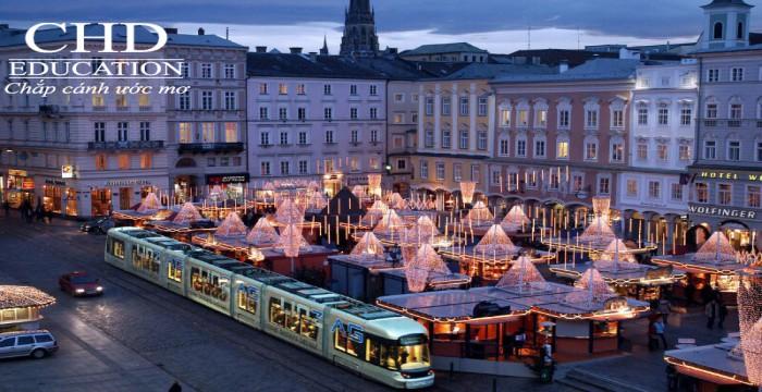 Khám phá những thành phố Du học Áo miễn giảm học phí 2017