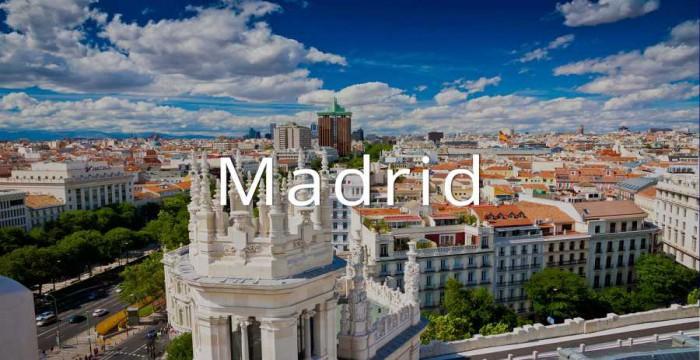 MADRID - THÀNH PHỐ VẠN NGƯỜI MÊ