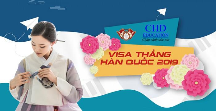 NẮM BẮT NGAY CƠ HỘI VISA THẲNG HÀN QUỐC_THÁNG 3/2019