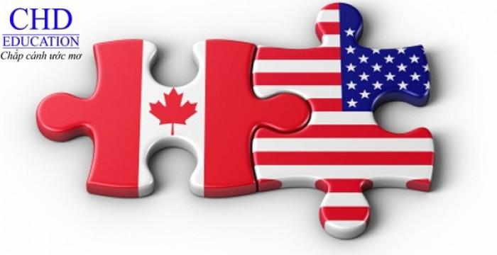 NÊN CHỌN DU HỌC TẠI CANADA HAY MỸ
