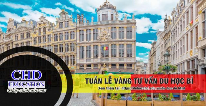 Tham dự tuần lễ vàng du học Bỉ tháng 5/2019 - Nhận ngay nhiều phần quà hấp dẫn!