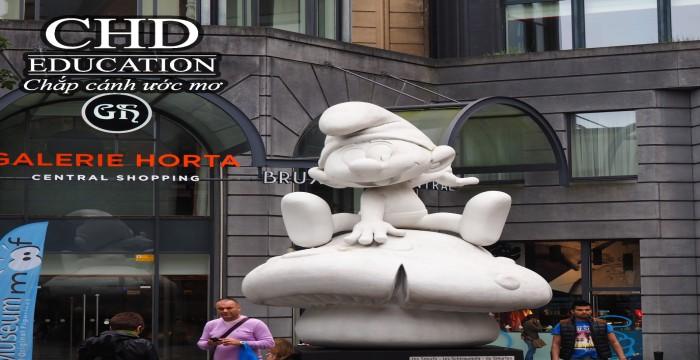 Tham quan các khu bảo tàng ở Brussels