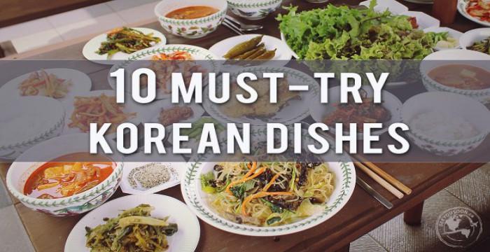 Top 10 Món Ăn Hàn Quốc Ngon Không Cưỡng Nổi
