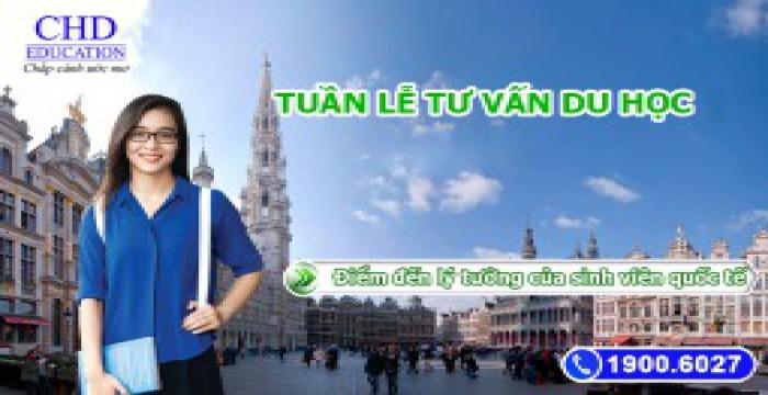 Tuần lễ du học - Cơ hội học bổng cùng visa thẳng cho du học sinh Việt