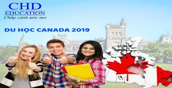 """TUẦN LỄ VÀNG TƯ VẤN DU HỌC CANADA 2019 - RING NGAY QUÀ """"KHỦNG"""" TỪ CHD"""