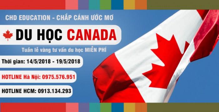 Tuần lễ vàng –  Cơ hội tư vấn MIỄN PHÍ mọi thông tin về du học Canada từ CHD