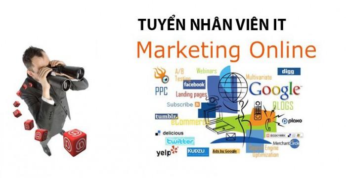 Tuyển dụng nhân viên Marketing online [ Hà Nội - TP.HCM ]
