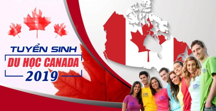TUYỂN SINH DU HỌC CANADA NĂM 2019