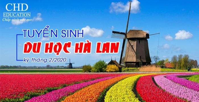 TUYỂN SINH DU HỌC HÀ LAN KỲ THÁNG 2/2020