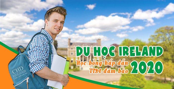TUYỂN SINH DU HỌC IRELAND NĂM 2020