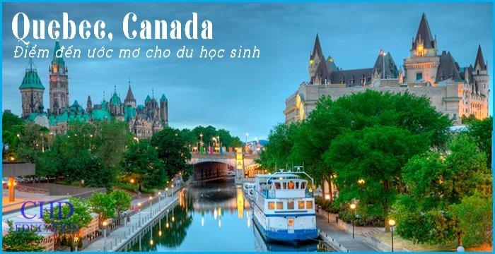 QUEBEC - ĐIỂM ĐẾN ƯỚC MƠ CHO DU HỌC SINH NĂM 2020 TẠI CANADA
