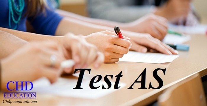 THI THỬ TEST AS TẠI CHD