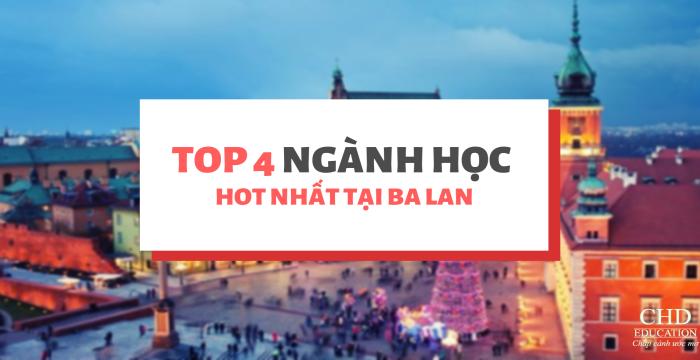 TOP 4 NGÀNH HỌC ĐANG RẤT HOT TẠI BA LAN