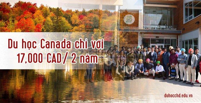 DU HỌC CANADA CHỈ VỚI 17,000 CAD/2 NĂM