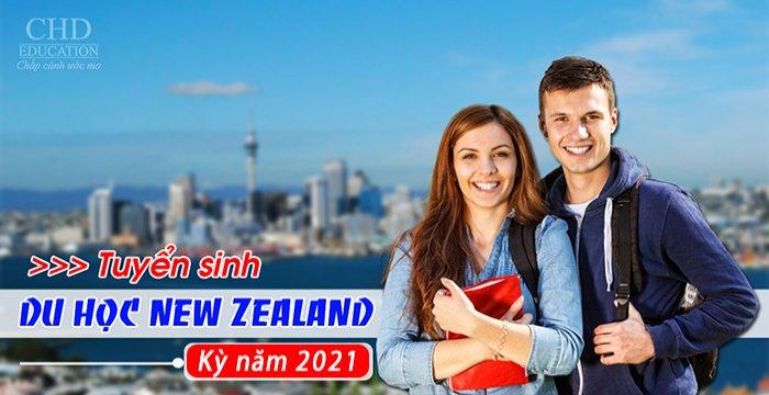 TUYỂN SINH DU HỌC NEW ZEALAND NĂM 2021