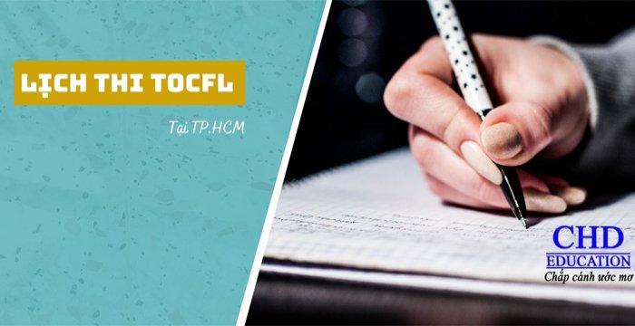 Kỳ thi TOCFL 2021 Ở TP .HCM