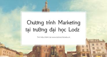 Chương trình Marketing tại trường đại học Lodz