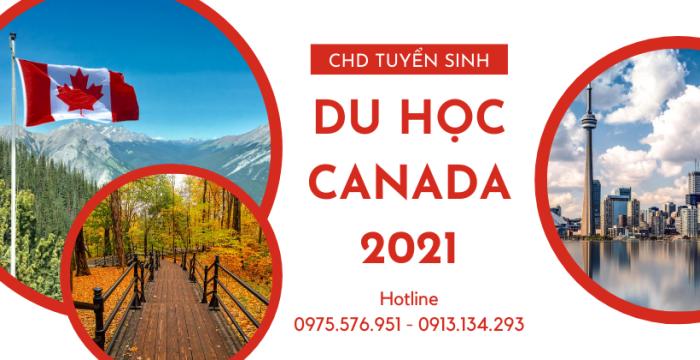 Tuyển sinh du học Canada 2021 - Đăng ký ngay - nhận quà liền tay