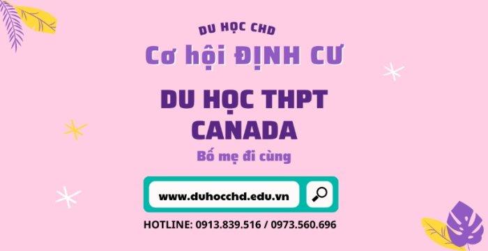 Du học THPT Canada - Không cần IELTS - Cha mẹ đi cùng