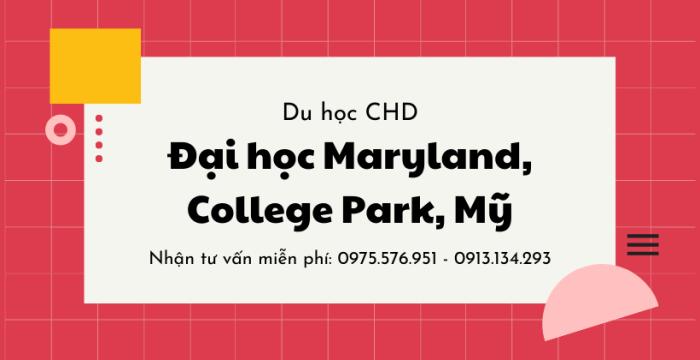 Đại học Maryland, College Park, Hoa Kỳ