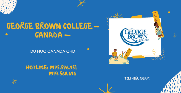 GEORGE BROWN COLLEGE – CANADA