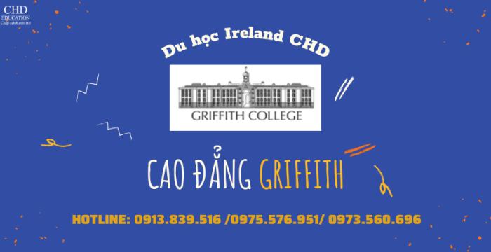 DU HỌC IRELAND TẠI CAO ĐẲNG GRIFFITH